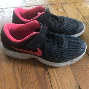 Girls Nike sneakers size 1